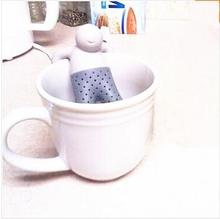 2015 Teapot cute Mr Tea Infuser/Tea Strainer/Coffee & Tea Sets/silicone fred mr tea Silicon Herbal Spice Infuser Diffuser Cute