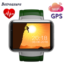 Buy Betreasure DM98 Smart Watch Android Big Screen 320*240 MTK Dual Core 1.2G 900mAh WIFI 3G GPS Smartwatch Android IOS for $78.47 in AliExpress store