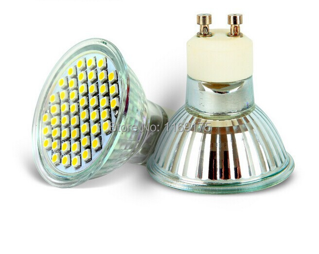 Free Shipping  GU10 LED Spotlights 220V 3W Warm/Cold White Home Lighting 24 SMD2835 LED(China (Mainland))