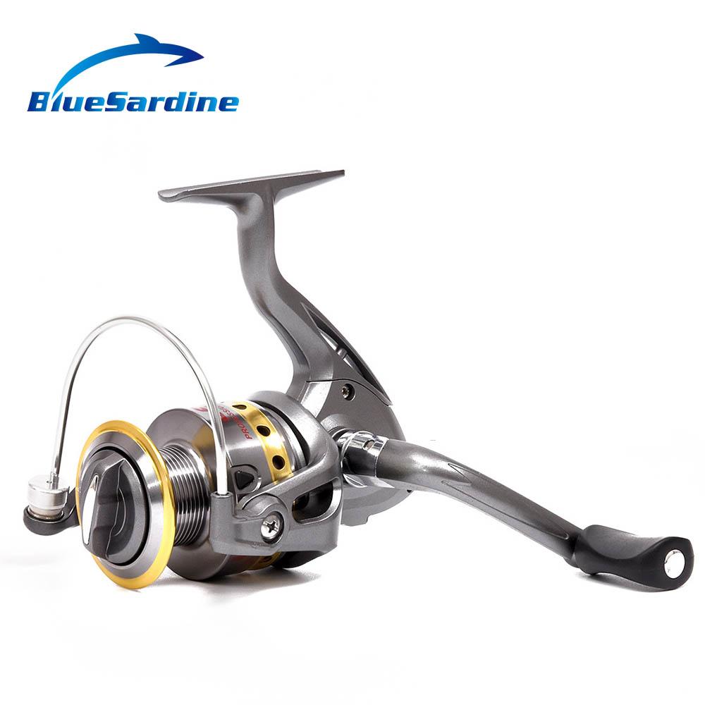 New spinning fishing reel 8 ball bearings 5 5 1 gear ratio for Fishing reel bearings