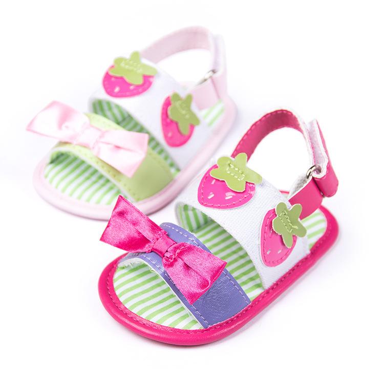 2015 New Design Summer Bebe Infant Baby Girl Shoes baby sandals Todder pre-walker shoeborn 11cm 12cm 13cm - Children Castle store