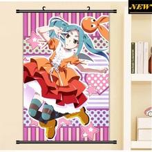 40X60CM Monogatari Story Bakemonogatari Ononoki loli cartoon anime wall scroll picture mural poster art cloth canvas painting