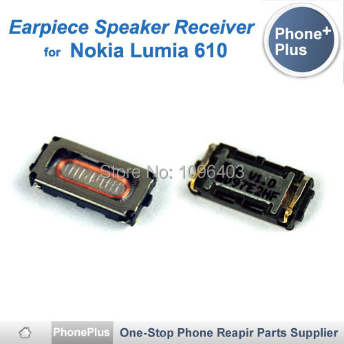 Nokia Lumia 610 Earpiece Speaker Receiver Earphone Flex Cable Replacement Part Tracking Number - Phone-Plus store