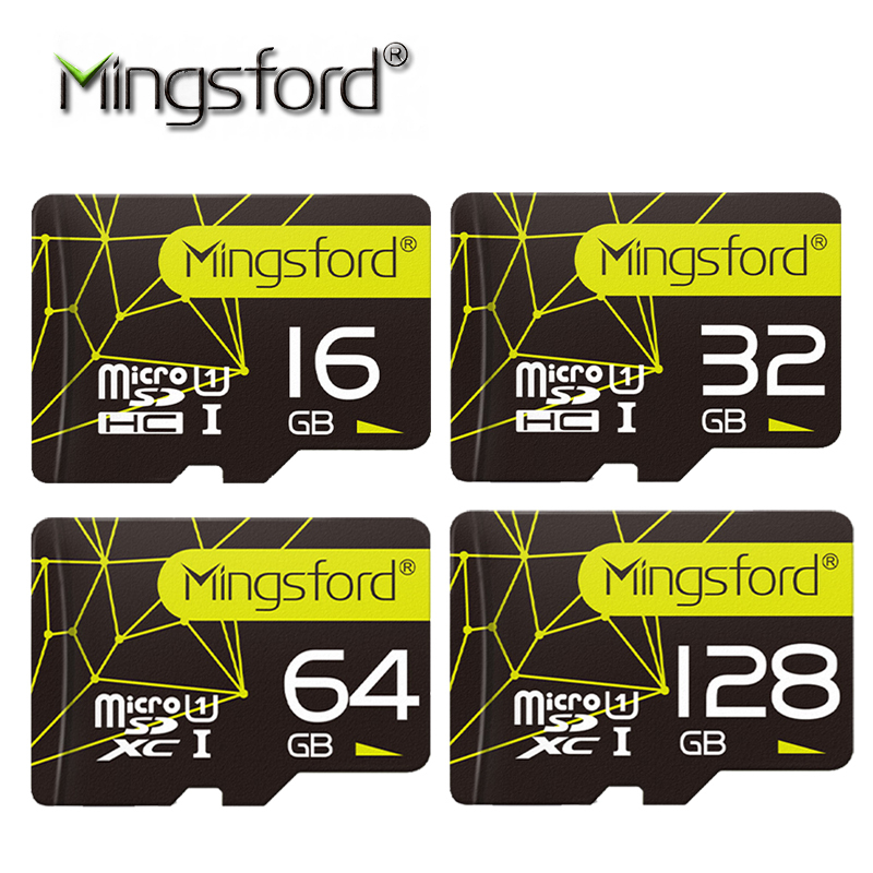 Mingsford High Speed 16G 32G 64G 128G SD TF Memory Card Flash SD Card Class10 Storage Expansion for SmartPhone Camera promotion(China (Mainland))