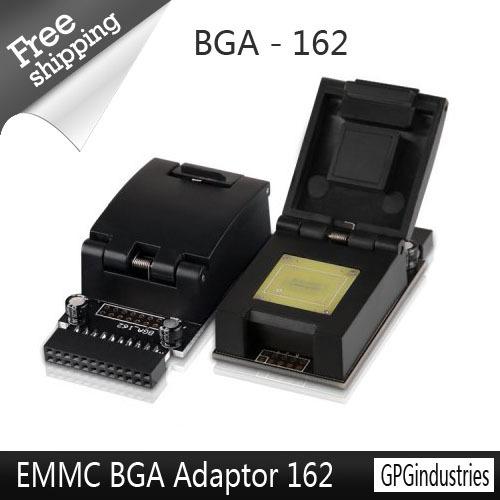 Здесь можно купить  100original EMMC BGA Adaptor 162 from GPG for z3x jtag pro box and gpg emmc box or easy jtag box+ Free Shipping  Телефоны и Телекоммуникации