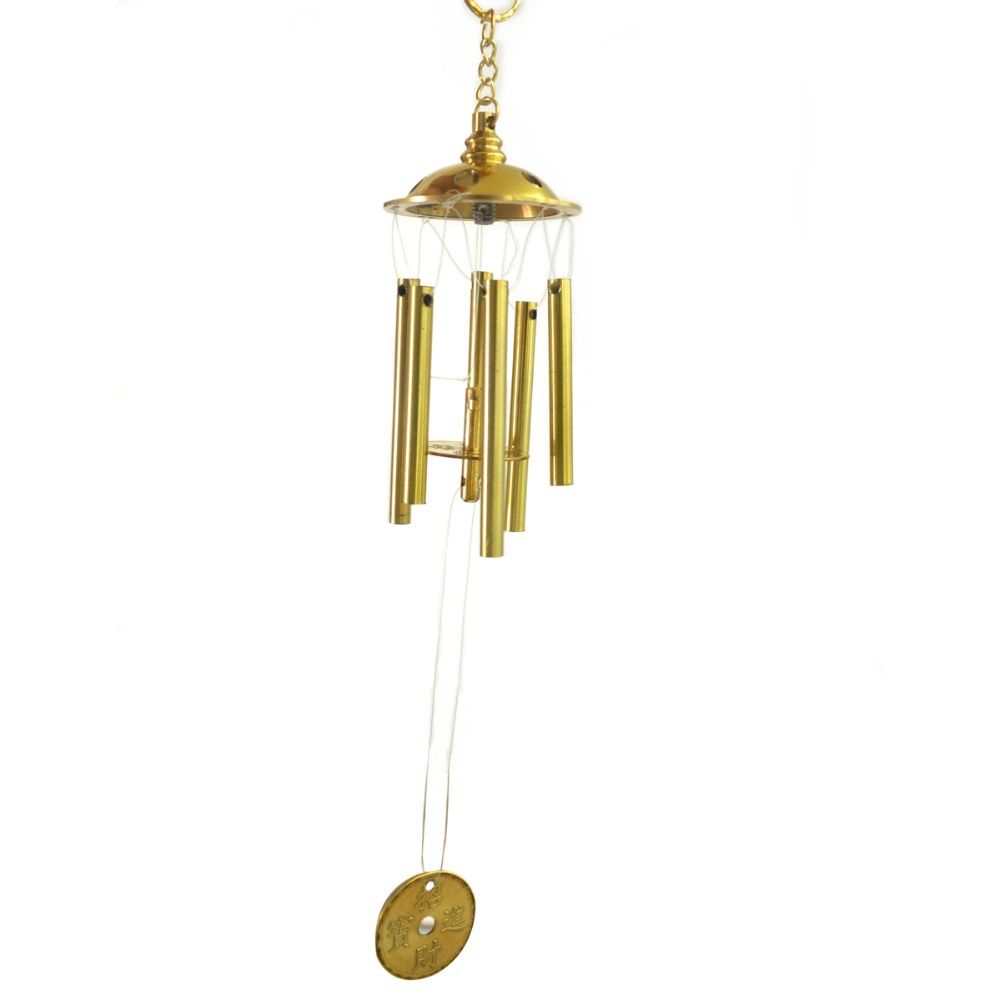 Wind Chimes Door Hanging Home Coins Grace Deep Resonant 6