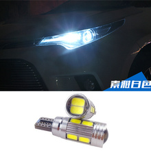 2 X T10 LED W5W Car Auto Lamp 12V Light bulbs Projector Lens Volvo S60L S80L XC90 S60 C70 V60 V50 V40 XC60 S40 S80 - Le bright Technology Co., Ltd. store