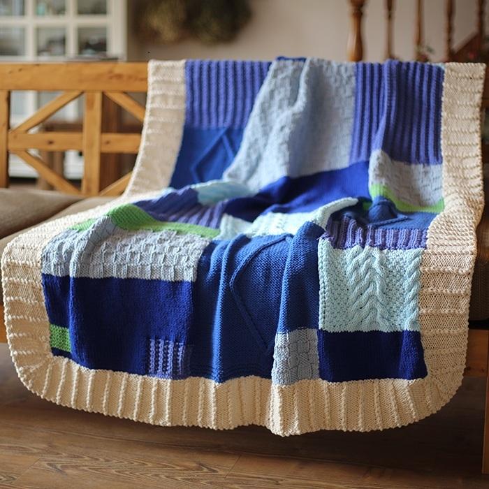 online kaufen gro handel handarbeit gestrickte decken aus china handarbeit gestrickte decken. Black Bedroom Furniture Sets. Home Design Ideas