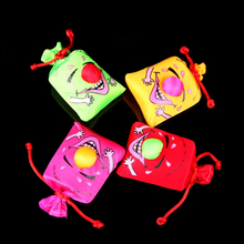 New Arrival Creative Musical Comedy Laugh Bags Gifts For Childdren Wedding Decoration Home Accessories Colors Random Toy-0144(China (Mainland))