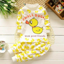 Baby Sleepwear Suit Children Pajamas Set Kids Baby Girl Boys Cartoon Casual Pijamas Kids Pyjamas (China (Mainland))