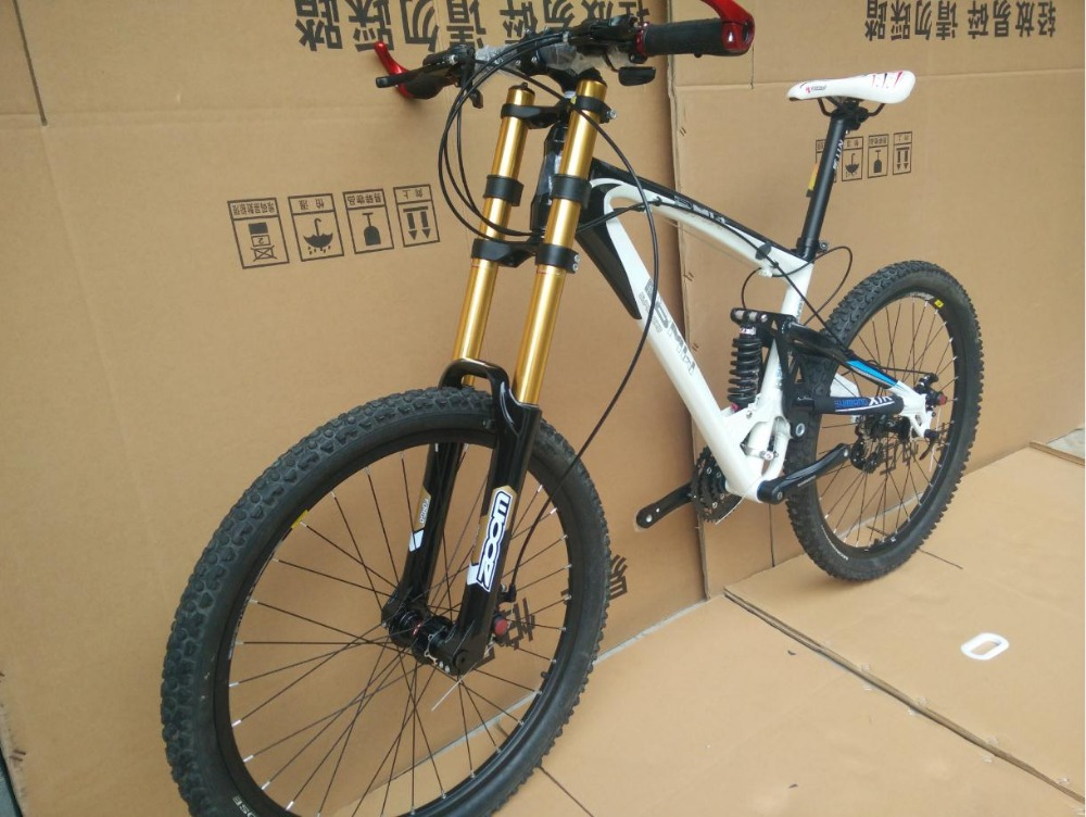 DH Downhill 21/24/27/30 speed 26er alloy frame Hot selling bike 26*17inch 2016 bicicleta mountain bicycle bike(China (Mainland))