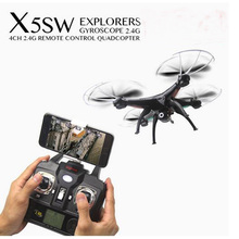 The Newest Syma X5SW Wifi FPV 2.4Ghz 4CH RC Quadcopter Drone Profissional with 2MP HD Camera RTF Real Time RC Helicopter Toys