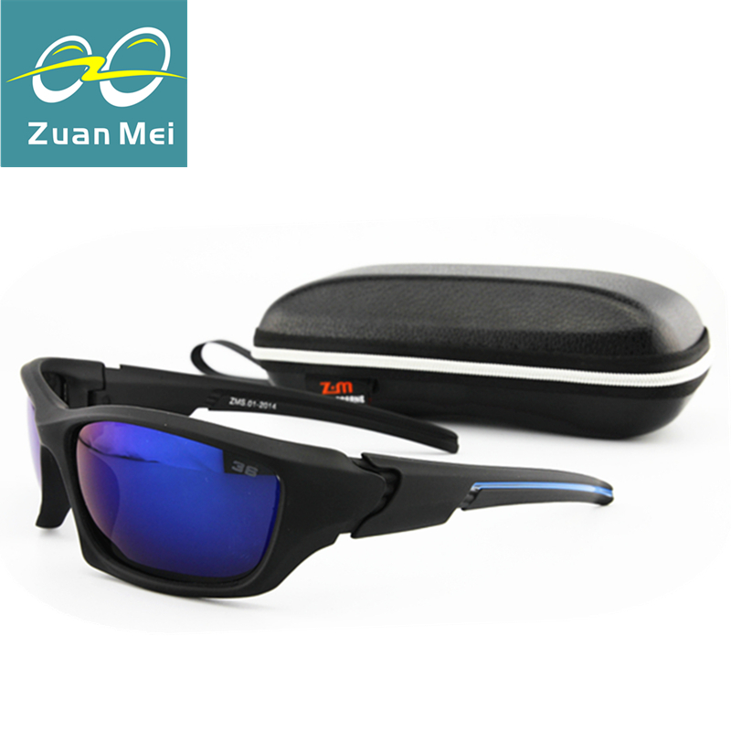 Zuan Mei Brand Sport Polarized Sunglasses Men Fishing Sun Glasses For Men Lunette De Soleil Gafas Polarizadas sunglass Man ZM-01(China (Mainland))
