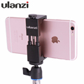 Ulanzi IRON MAN Universal Tripod Mount Stand Clip Adapter for iPhone Samsung Xiaomi Meizu Mobile smartphones