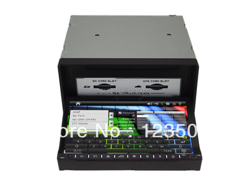 double din 7'' Car Pc, Universal Car DVD player GPS Wifi Adapter  IPOD Playing  Analog TV TF Card  Wheel control with Map
