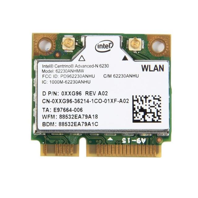 New for Intel Centrino Advanced-N 6230 62230ANHMW WIFI 3.0 Bluetooth half MINI PCI-E 2.4GHZ/5GHZ Wireless card(China (Mainland))