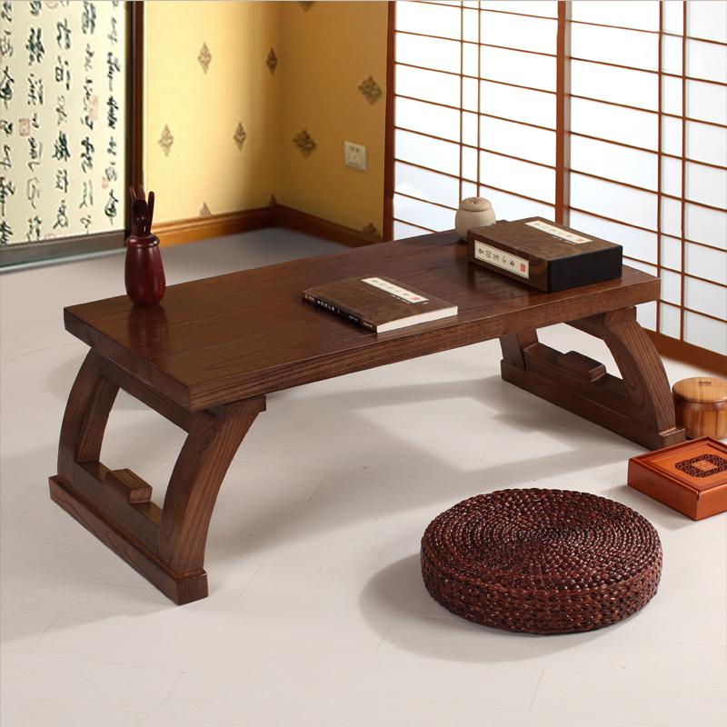 Elm Wood Furniture Chinese Gongfu Tea Table Retangle 120cm Living Room Furniture Modern Small Low Long Coffee Tea Table Wooden(China (Mainland))