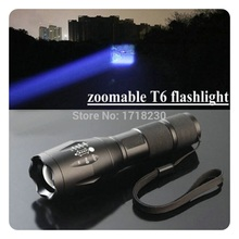 2500lm 5-Mode Adjustable Focus CREE XML T6 LED Blub18650/3AAA Waterproof  Zoomable Flashlight Torch Hot(China (Mainland))