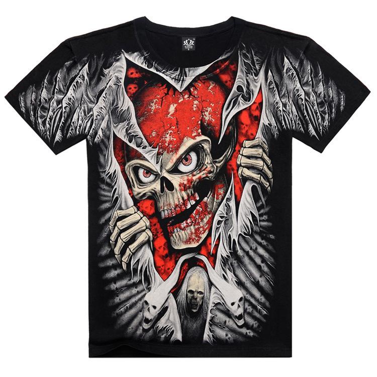 2015 new brand 3d t shirt men tshirt digital printed t for Digital printed t shirts