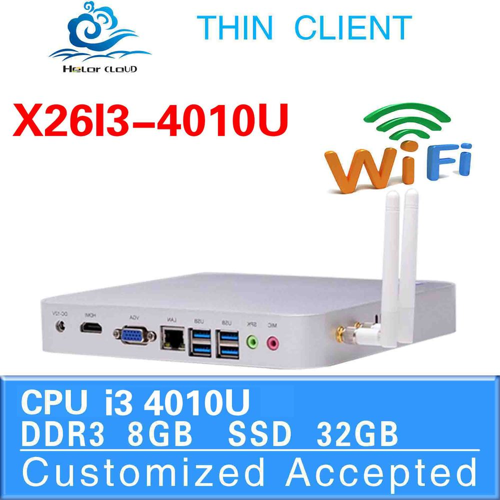 Factory competitive price N excellent quality X26-i3 4010u INTEL Dual core arm linux desktop pc station PC 8gb ram 32gb ssd(China (Mainland))