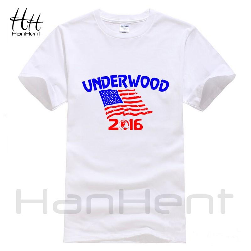 HanHent Underwood T-Shirt Mens House Of Cards TV Men's Cotton Shirt Wrestling Funny Streetwear Sport Men Suit Swag USA T Shirt  HTB1wrDiLVXXXXacXpXXq6xXFXXXK