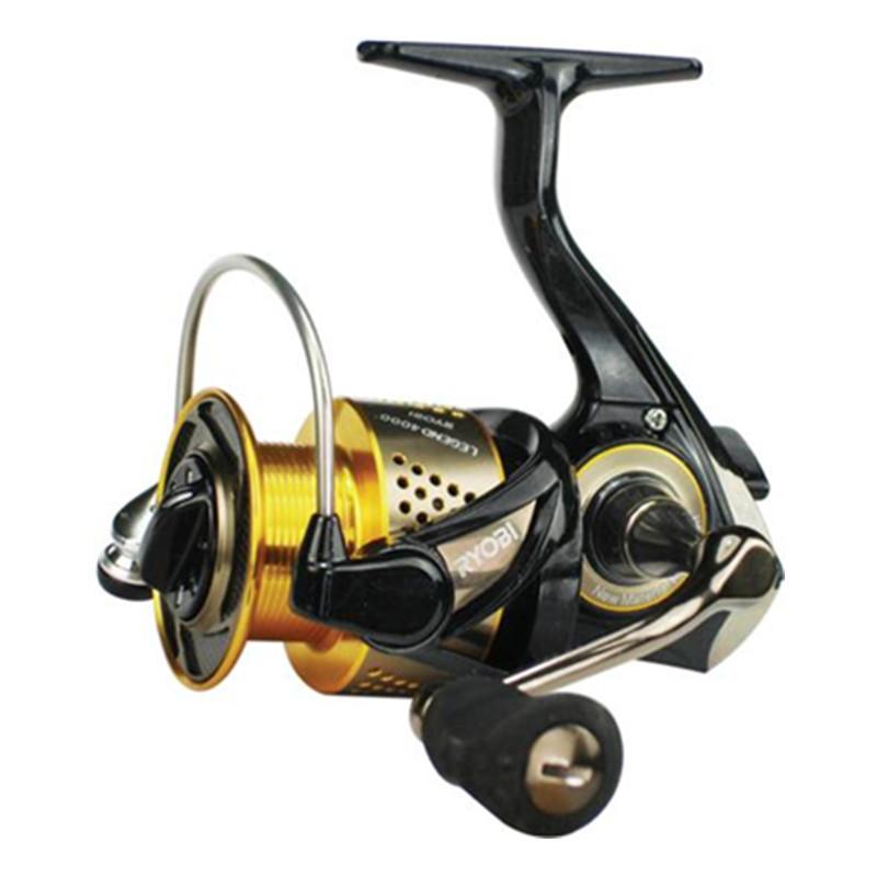 Free Shipping 100% Original Japan RYOBI Wheel Cheap Spinning Fishing Reel 6BB/5.1:1Carretes Pesca Moulinet Peche Carretilha(China (Mainland))