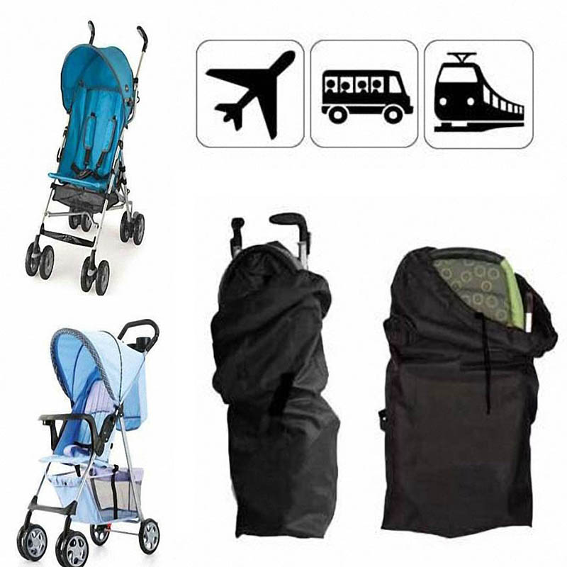 Baby Infant Child Gate Check Umbrella Standard Double Stroller Pram Pushchair Travel Bag Baby Carriage Buggy Cover(China (Mainland))
