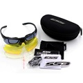 3 Lens Brand Shooting glasses Crossbow Goggles Ballistic Military Sport Men Sunglasses Army Bullet proof Eyewear