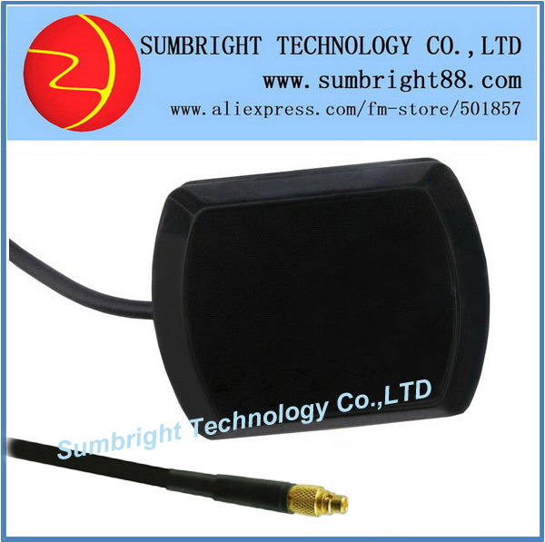 SB-CA119-MMCX-3M 120pcs*active marine magnetic patch outdoor ceramic 1575.42MHz external waterproof car MMCX GPS antenna China(Hong Kong)