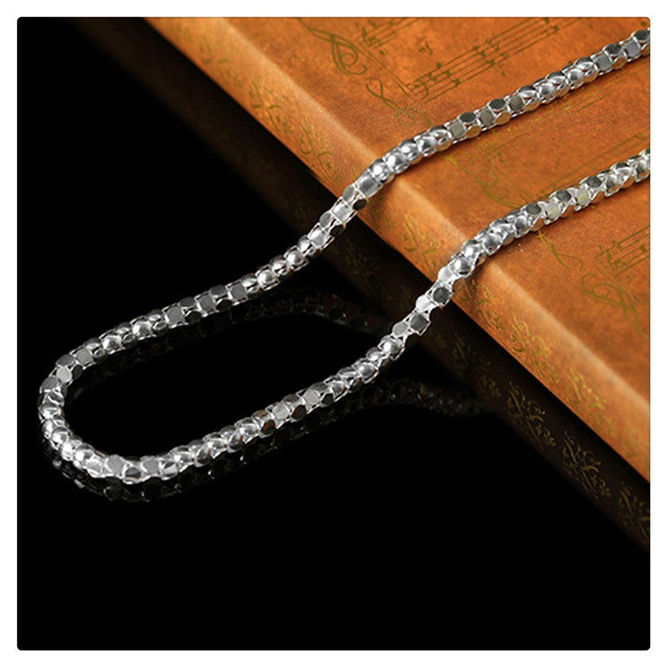 Excellent Quality Unique Design Snake Chain New Genuine 925 Sterling Silver Jewelry Punk Necklaces Female acessorios para mulher<br><br>Aliexpress