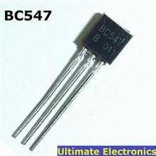 50pcs BC547 45V 0.1A TO-92 NPN Transistor(China (Mainland))