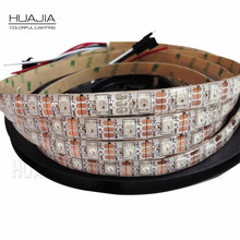 Buy 1M/2M/5M WS2812B 5V RGB Addressable LED Strip Black&White PCB 30/60/144 leds/m 2811 IC Built-in 5050LED IP30/IP65/IP67 Pixels for $2.49 in AliExpress store