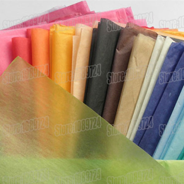 50x70cm,50pcs/lot,colorful single copy tissue paper wine,shirt,shoes wrapping paper /gift packing material,Flower poms paper(China (Mainland))
