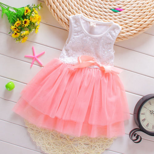 2015 New Baby Girls Dress baby Girls clothes vestidos infantis Children Dresses Princess Party Dress girls clothes<br><br>Aliexpress