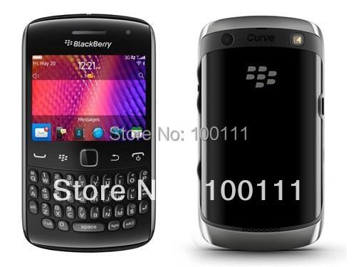 Free DHL/EMS Shipping &100% original unlocked 9360 curve 4 cell phones support 3g wifi quadband BlackBerry OS 7(Hong Kong)