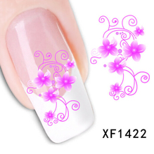 1pc water transfer nail stickers decal beauty manicure DIY stickers for nail arts decorations 31 Design