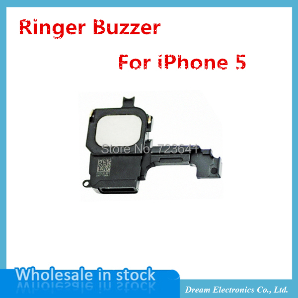 10pcs/lot New Inner Replacement Ringer Buzzer Loud Speaker for iPhone 5 5g Repair Assembly Part Free Shipping(China (Mainland))
