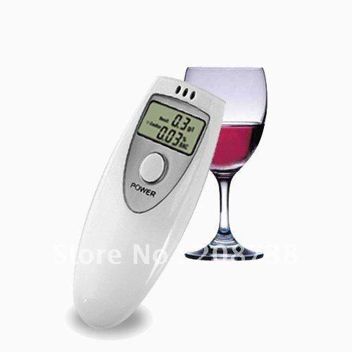 Free shipping Alcohol Breath Test Detector Breathalyzer Breathalizer(China (Mainland))