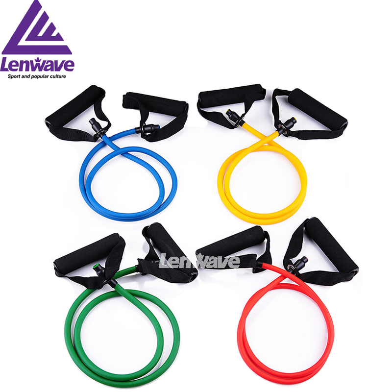 Fitness Bands Resistance Rope Exerciese Tubes Elastic Exercise Bands For Yoga Pilates Workout Free Shipping(China (Mainland))