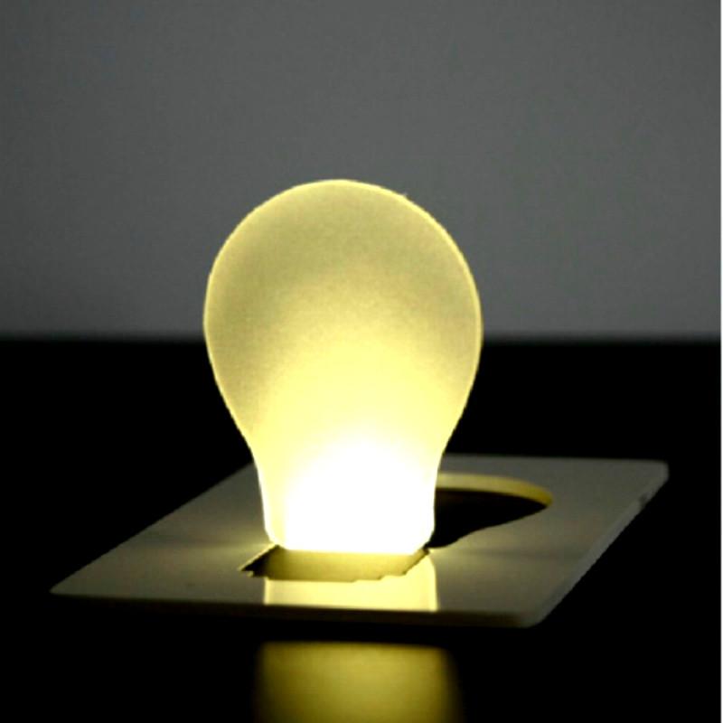 mini led creditcard light, portable led card pocket light ...