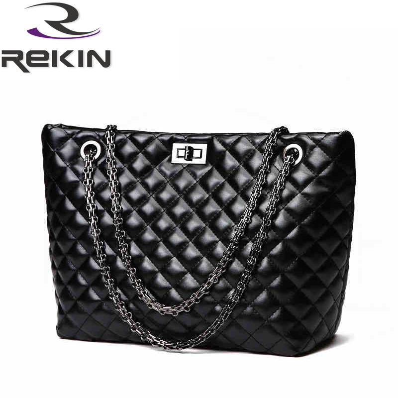 2015 Hot Selling Ladies Chain+PU Leather Handbag Tote Shoulder Bags Large Capacity Women messenger bag Casual Female Weave Bags <br><br>Aliexpress
