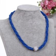 2016 NEW Fashion Design Girl Jewelry Handmade Stardust Crystal Rhinestone Necklaces Free Shipping(China (Mainland))