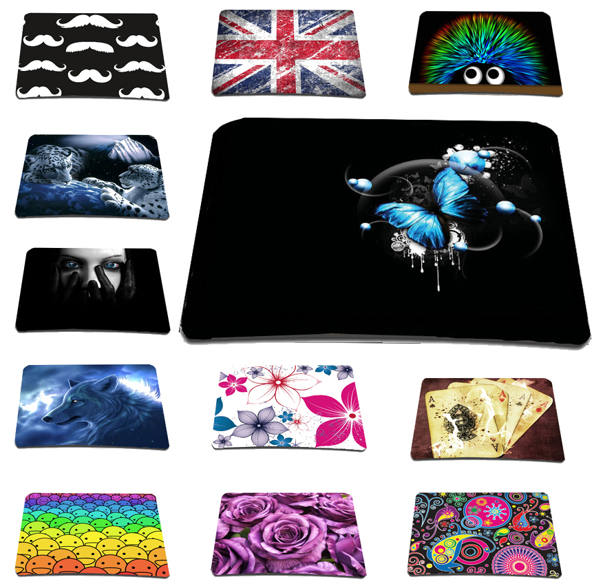 2015 New Rubber Mice Mat For Laser Mouse Pads For Notebook Computer Office Accessories Stylish Anti-slip Mousepad Free Shipping(China (Mainland))