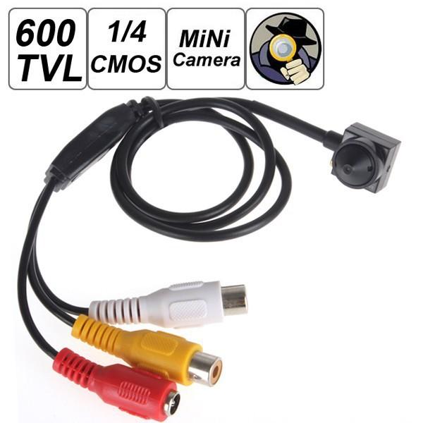 "hot sale Smallest Mini 600TVL 500MP 1 / 4"" HD Sensor Cone CCTV Camera Covert Cam for Home Security Video Surveillance(China (Mainland))"