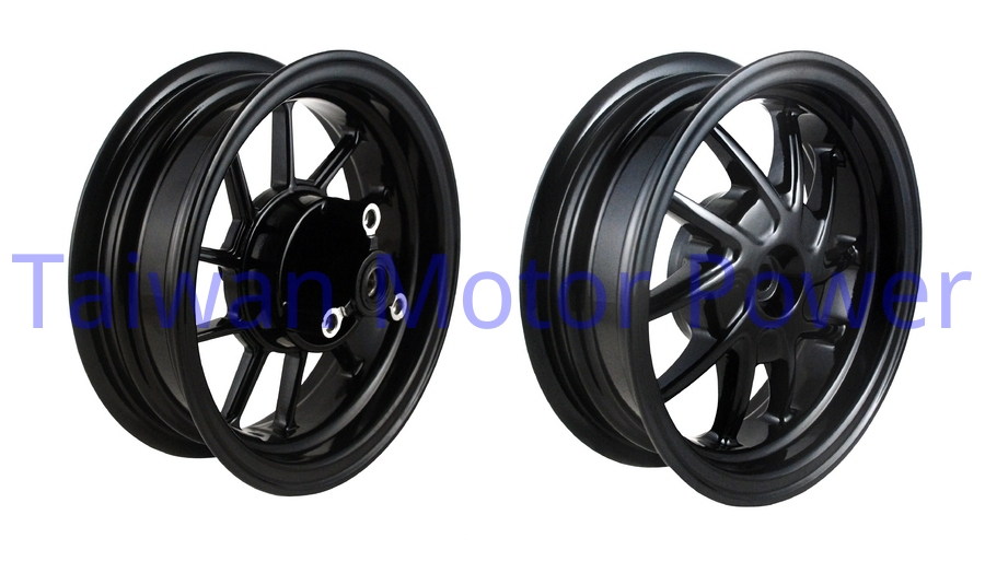 Taiwan NCY fit HONDA ZOOMER 50 ZOOMER50FI FRONT(for disk) + REAR ALUMINUM RIM WHEEL tire modification accessories motorcycle(China (Mainland))
