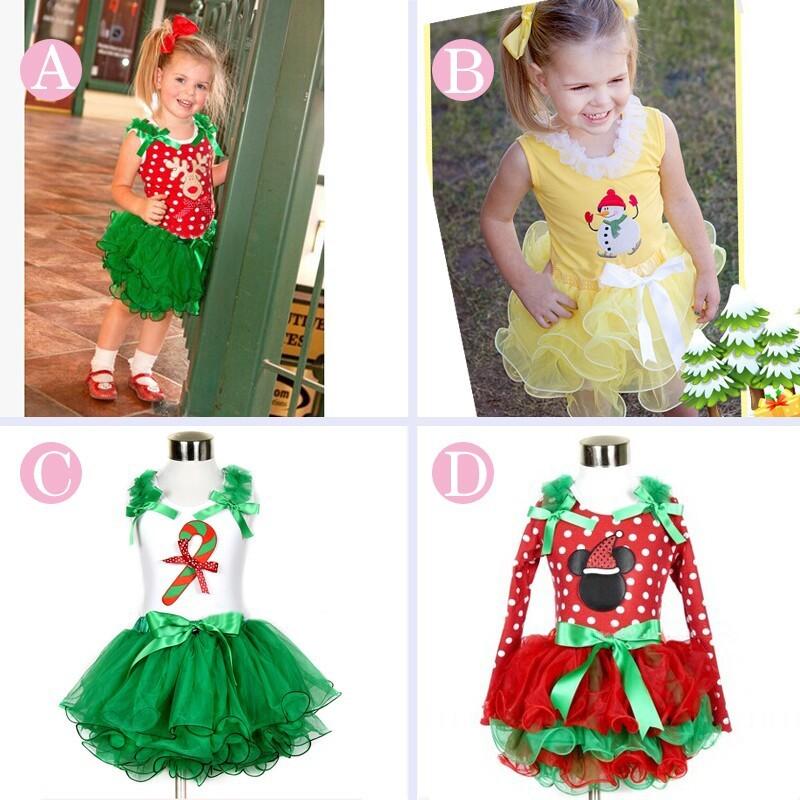 Neue M Dchen Minnie Mouse Kleid Party Weihnachten Kost M