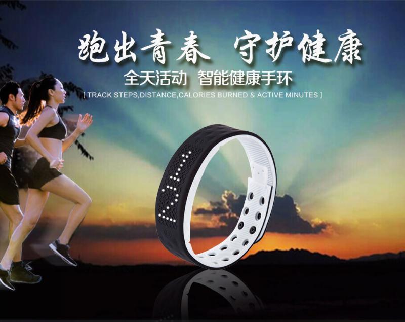 Водонепроницаемый смарт-часы вибрации будильник персонализированные спорт кольцо руки светодиодные электронные часы