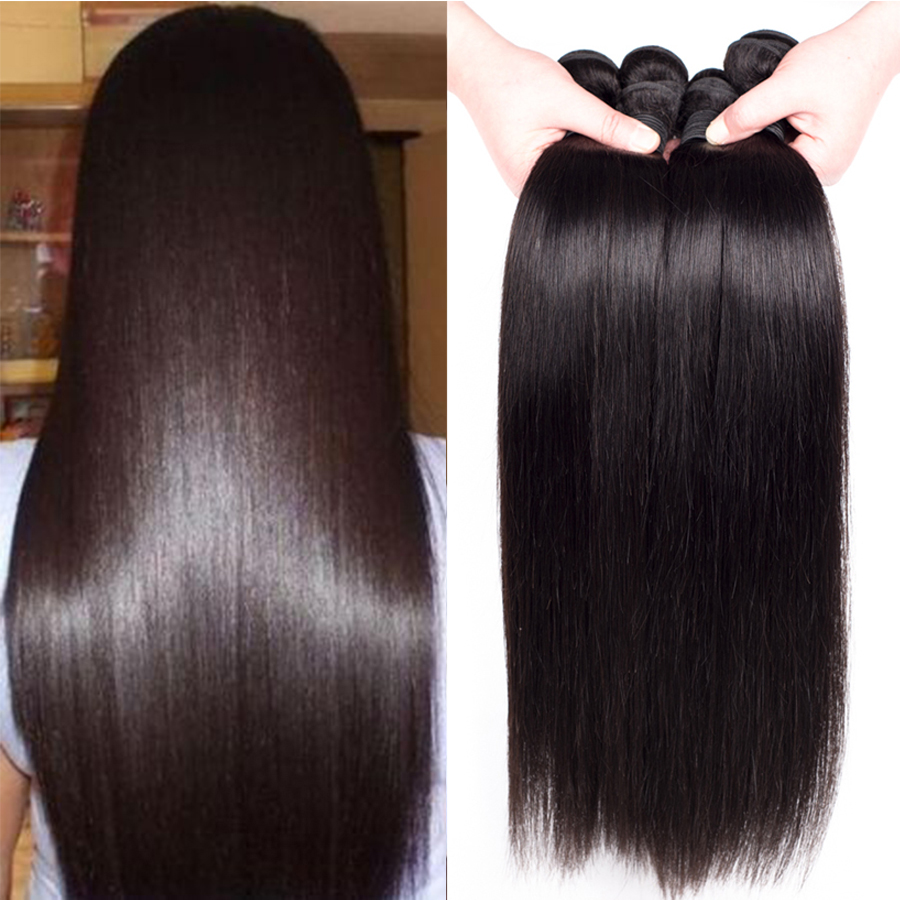 Rosa Hair Brazilian Straight Hair 3 Bundles Unprocessed Brazilian Virgin Hair Straight 7A Plus Mink Brazilian Hair Weave Bundles<br><br>Aliexpress