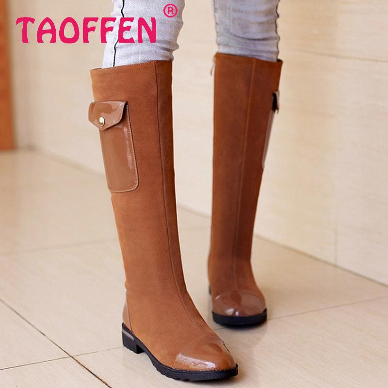 CooLcept Free shipping over knee natrual real genuine leather high heel boots women snow winter warm shoes R5124 EUR size 34-40<br><br>Aliexpress