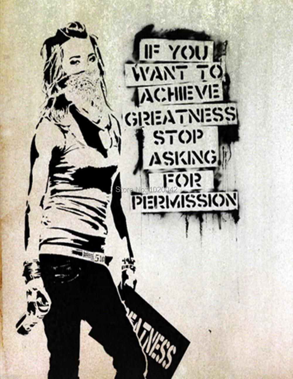 Banksy Prints on Canvas - Banksy Graffiti and Street Art | iCanvas.com